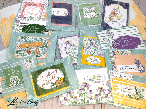 July Hand-Penned Memories & More cards