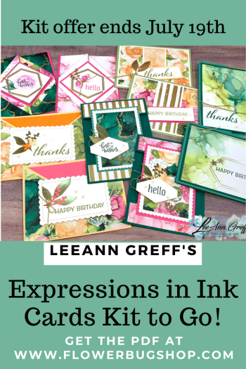 Expressions in Ink cards kit