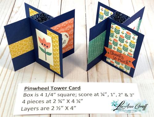 Pinwheel Tower Sweet Simmetry .