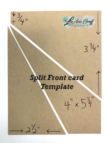 Split Front Template