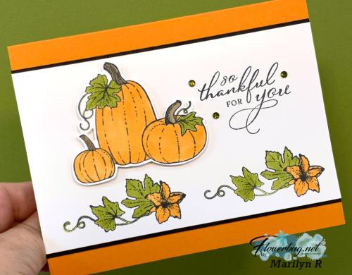 Pretty Pumpkins thankful