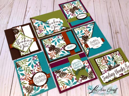 Christmas Season Easy 8 card wonder