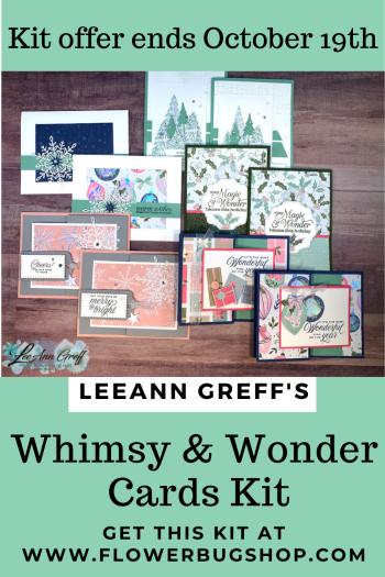 Whimsy & wonder Cards kit to go -1