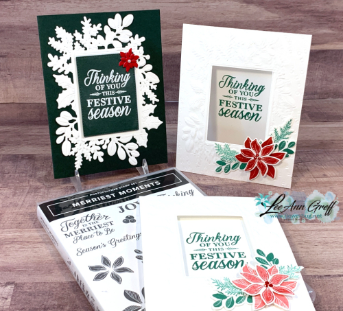 Merriest Moments cards